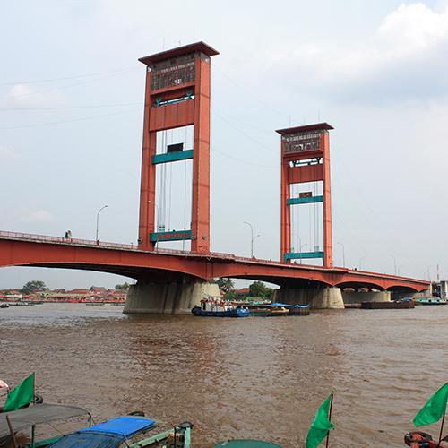 Jembatan tertua di Indonesia