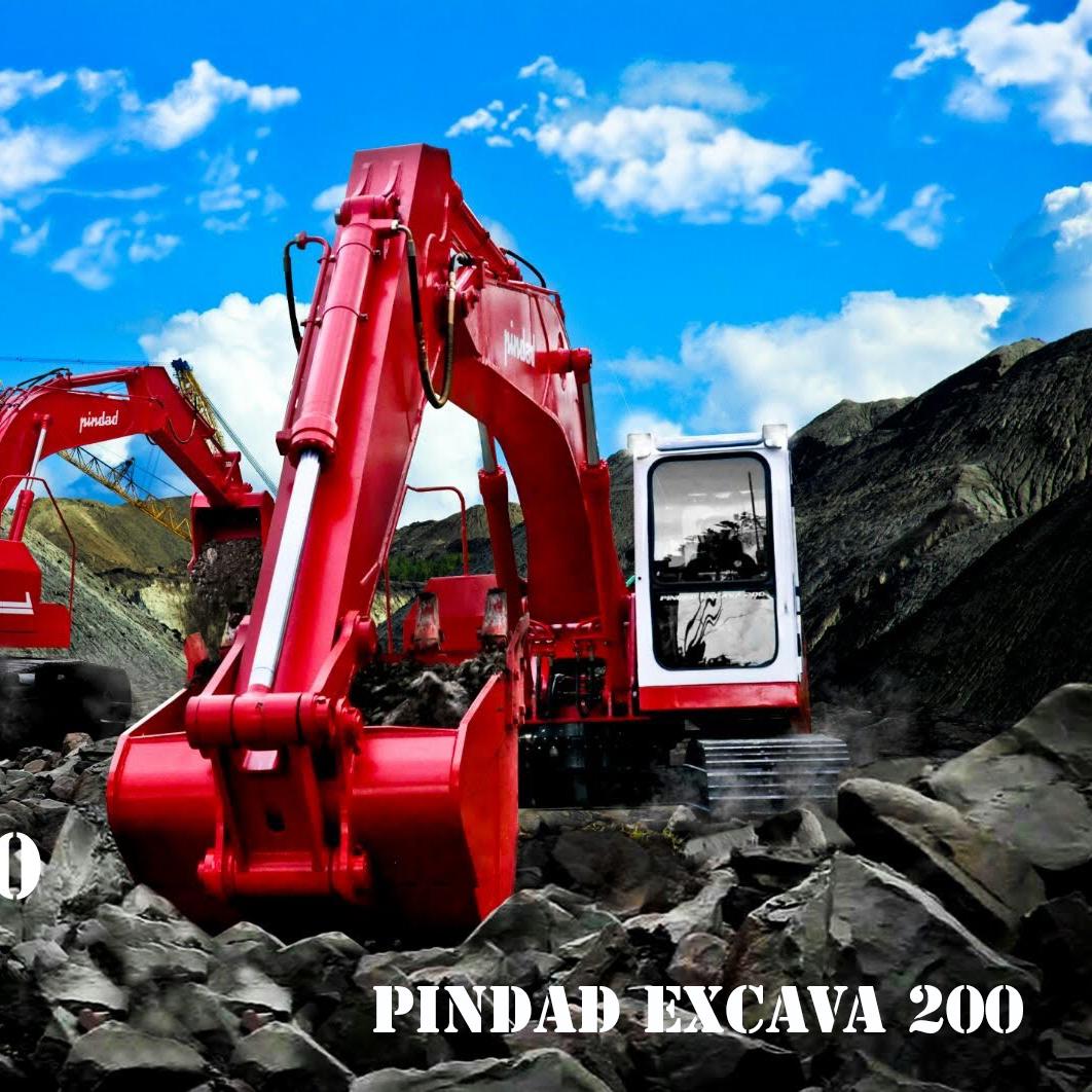 Industri Alat Berat Pindad EXCAVA 200