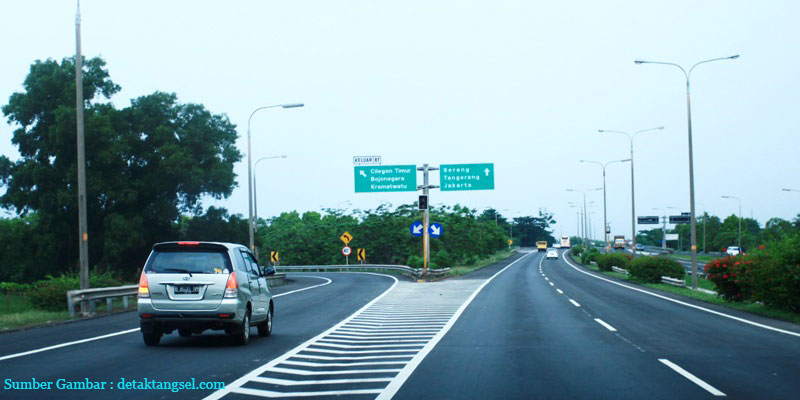 Tarif Tol Tangerang Merak Naik